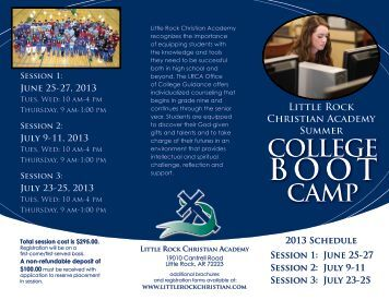 Brochure - Little Rock Christian Academy