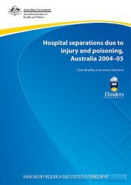 as a PDF document - Research Centre for Injury Studies - Flinders ...