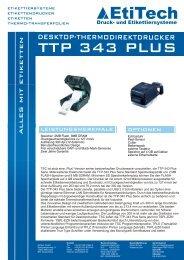 TTP 343 PLUS - Etitech Gmbh
