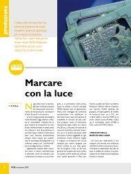 Marcatori laser per circuiti stampati - Panasonic Electric Works Italia ...