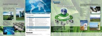 Green Automation - Panasonic Electric Works Italia SRL