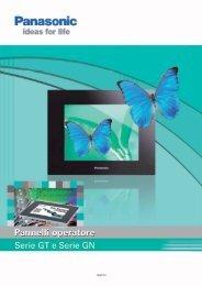 Catalogo Pannelli operatore serie GT e GN - Panasonic Electric ...