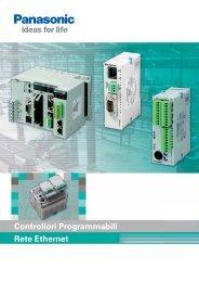 fp web server - Panasonic Electric Works Italia SRL