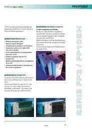 FP3/FP10SH - Panasonic Electric Works Italia SRL