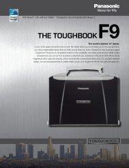 THE TOUGHBOOKF9 - Panasonic