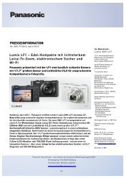 presseinformation - Panasonic