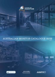 AUSTRALIAN MONITOR CATALOGUE 08/09 - Panatronic