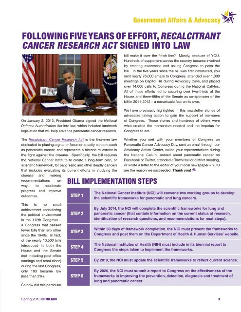 PDF version - Pancreatic Cancer Action Network