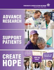 Annual Report 2009–2010 - Pancreatic Cancer Action Network