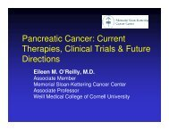 Pancreatic Cancer: Current Therapies, Clinical Trials & Future ...
