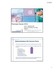 Pancreas Cancer 2012 - Pancreatic Cancer Action Network