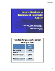 Future Directions in Treatment of Pancreatic Cancer