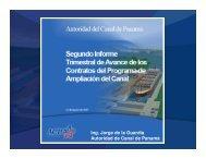 Avances del Proyecto de Ampliación - Panama Canal