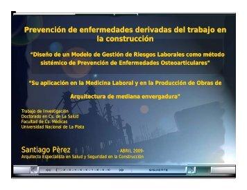 Prevención de enfermedades derivadas del trabajo en la construcción