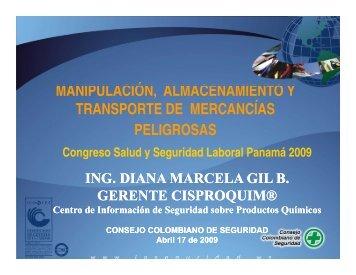 MANIPULACIÓN ALMACENAMIENTO Y ... - Panama Canal