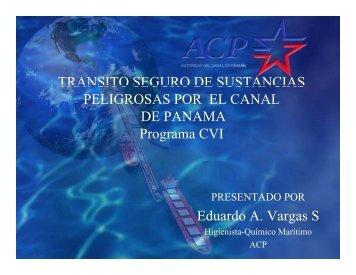 Higiene Industrial y Barcos con sustancias ... - Panama Canal
