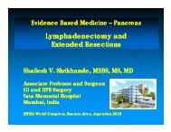 Lymphadenectomy and Extended Resections - Pancreatic Cancer ...