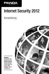 Internet Security 2012 - Panda-Antivirus.ch