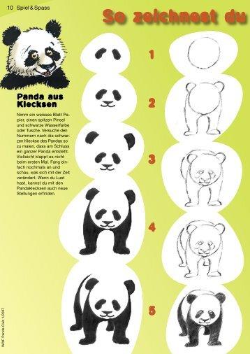 So zeichnest du einen Pan - WWF Panda Club
