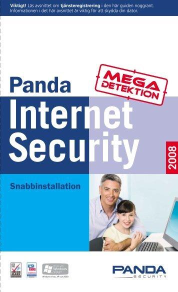 Snabbinstallation - Panda Security