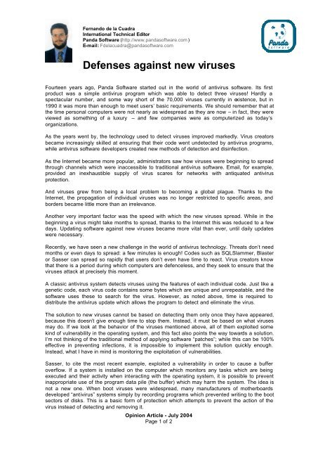 Download PDF - Panda Security