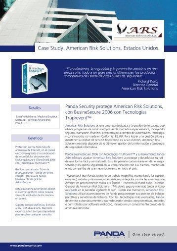 Caso de Estudio: Panda Security protege American Risk Solutions ...