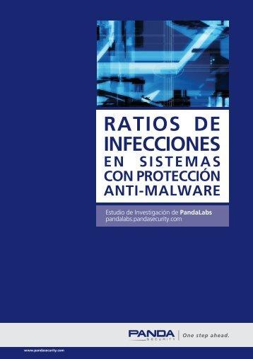 RATIOS DE INFECCIONES - Panda Security
