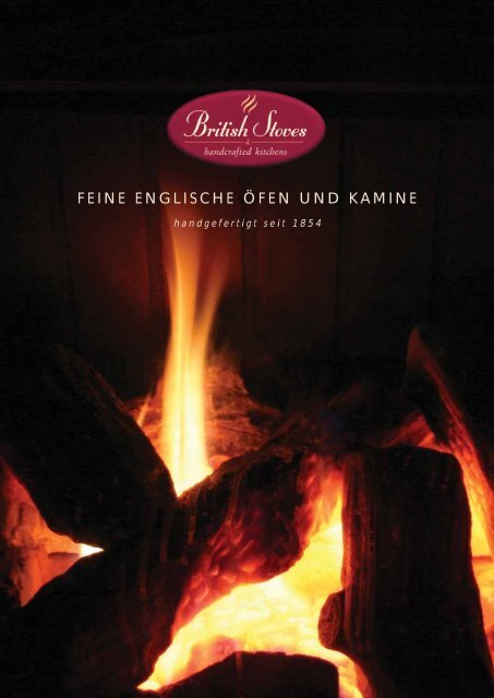 feine englische fen und kamine british stoves. Black Bedroom Furniture Sets. Home Design Ideas