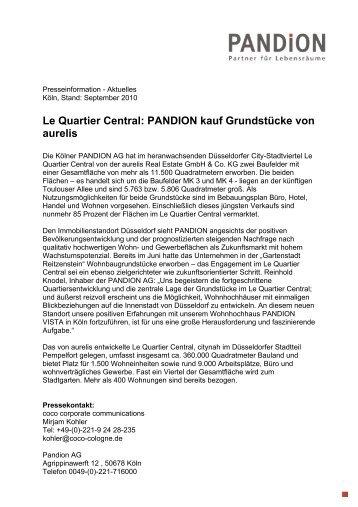 Pandion Plant Wohnungen In Der Gartenstadt Pandion Ag