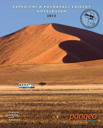 Katalog zájezdů CK Pangeo Tours 2013