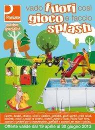 fuori gioco splash - Paniate