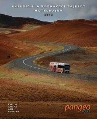 ExpEdiční a poznávací zájEzdy hotElbusEm 2012 - Pangeo tours