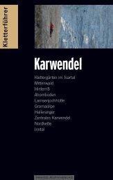 Karwendel - panico.der Alpinverlag