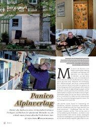 Portrait - panico.der Alpinverlag