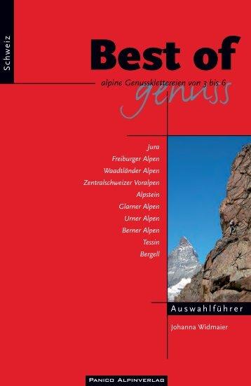 Best of Genuss Band 3 Schweiz pur.indd - panico.der Alpinverlag