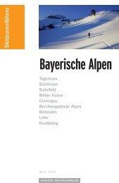 Bayerische Alpen - panico.der Alpinverlag