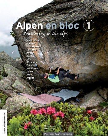 Alpen en bloc - panico.der Alpinverlag