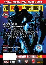 november/dezember 2009 november/dezember 2009 - Panini Comics