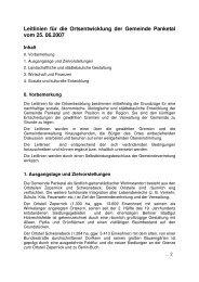Leitlinien für die Ortsentwicklung der Gemeinde Panketal vom 25 ...