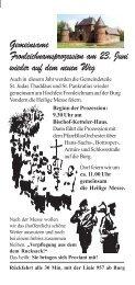 Fronleichnam-Flyer Pankratius.pmd - Propstei St. Pankratius