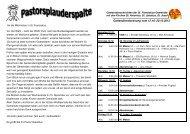 41Gemeindenachrichten St. Franziskus 12.10.-20.10 ... - St. Pankratius