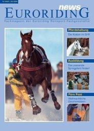 Euroriding news 12/2003