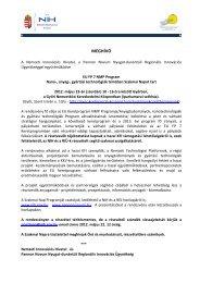 Meghívó - Nyugat-dunántúli Regionális Innovációs Ügynökség
