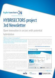 HYBRISECTORS project 3rd Newsletter