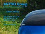 ANTRO Non-profit Ltd TASKS