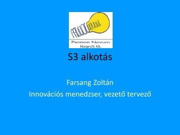 Farsang Zoltán, Pannon Novum Nyugat-dunántúli Regionális ...