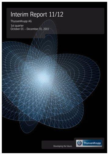 Interim Report 11/12