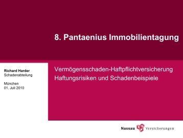 16 Absatz 3 WEG als Kostenbegruendungsvorschrift - Pantaenius