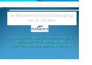 """""""Schleudersitz Eigentümerversammlung"""" Fehler bei ... - Pantaenius"""