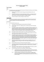 INSTITUTE STRIKES CLAUSES (CARGO) CL386 01 ... - Pantaenius